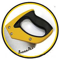 "Ножовка по дереву ""Caiman"",450мм,7TPI,зуб 3D,каленный зуб HT-Tools, код 21-012, фото 1"