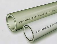 Труба полипроп. PPR, 20х3,4 Kompozit (стекловолокно) Firat (Турция)