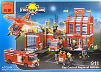Конструктор 911 Пожарный участок