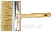 Кисть -макловица, лакированная ручка, длинная щетина 40х140 мм (Україна) , код 701-644