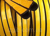 Уплотнитель D профиль, черный, TRELLEBORG, код 99-012