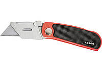 Нож, 18 мм, складной, сменное трапециевидное лезвие, + 10 лезвий Matrix Master 78900