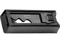Нож, 18 мм, выдвижное трапециевидное лезвие, металлический корпус + 8 лезвий Matrix Master 78924