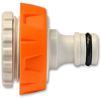 """Адаптер пластиковый универсальный, внутренняя резьба 1/2–3/4"""", код 772-538"""