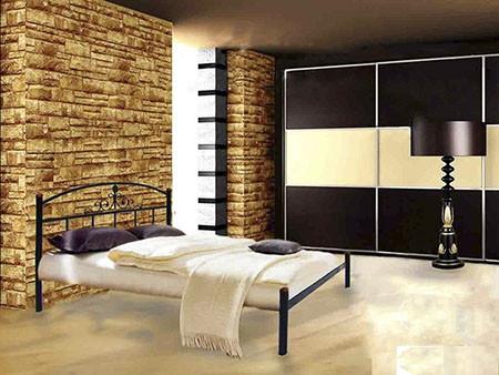 Металлическая кровать Кассандра 140х200