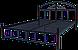 Металлическая кровать Кассандра 140х200, фото 3