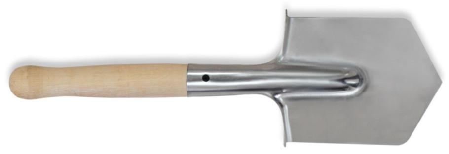 """Лопата саперная нержавейка, Украина 500мм, деревянная ручка, код 770-815  - """"Instro-group"""" интернет-магазин инструмента в Днепре"""