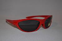 Солнцезащитные очки детские спорт красный