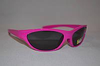 Солнцезащитные очки детские спорт малиновый