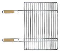 Решетка-гриль для мяса, с двумя деревянными ручками 40*57 см, 67 см, код 773-506
