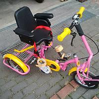 Kinder Reha Bike Трехколесный велосипед для детей с ДЦП