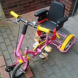 Kinder Reha Bike Трехколесный велосипед для детей с ДЦП, фото 2