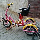 Kinder Reha Bike Трехколесный велосипед для детей с ДЦП, фото 3