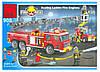"""Конструктор """"Пожарная машина"""" BRICK 908"""