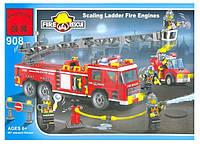 """Конструктор """"Пожарная машина"""" BRICK 908 , фото 1"""