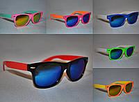 Солнцезащитные очки детские Wayfarer бензин опт