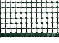 Сетка ограждающая полимерная 400 г/м2, ячейка 10х10, 1х50м, код 768-906