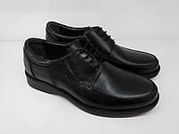 Черные туфли со шнуровкой Кожаная, Натуральная кожа, Натуральная кожа, Каучук, Весна/осень, Классический, 39