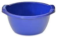 Таз пластиковый круглый, пищевой, Украина 24 л, код 766-453