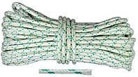 """Шнур капроновый плетеный """"Евро"""", Украина D 4 мм, 50 м, код 769-755"""