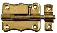 "Шпингалет ""Gold"", 12 шт. 100 мм, d 7 мм, 3 шт., код 769-986"