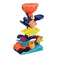 Набор для игры с песком и водой Мельница (в комплекте машинка, ведерце) Battat
