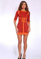 Платье женское  недорого с бантом    Ретро  размеры 42, 44, 46, 48