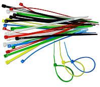 Набор цветных затяжных ремешков, 30 шт 2, 5х150 мм, код 723-203