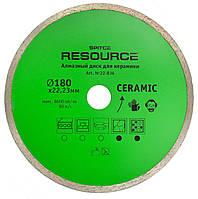 Алмазний диск для кераміки, Resource 180 мм, код 722-836, фото 1