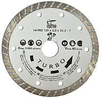 "Алмазный диск по бетону, камню ""TURBO"" 125 мм, код 722-806"