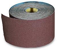 Бумага наждачная на тканевой основе, водост., 200 мм № 80, 50 м, код 718-602
