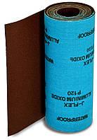 Бумага наждачная на тканевой основе, водост., 200 мм х 5м № 120, 5 м, код 718-622
