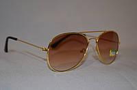 Солнцезащитные очки детские Aviator коричневый, фото 1