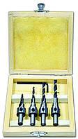 Набор конфирматных сверл, в футляре 3, 4, 5, 6 мм, код 721-889
