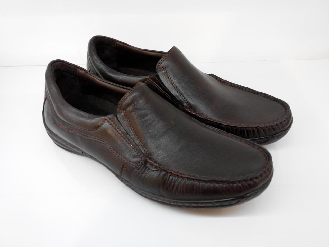 Мокасины Etor 13064-7244-1 40 коричневые