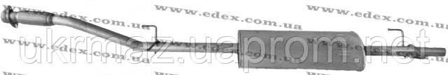 Глушитель Мерседес Спринтер 312D алюминизированный,EDEX 13.142 - УкрМАЗ комплект, ООО в Киеве