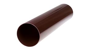 Труба для водостока 90*2000 мм rosa