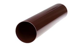 Труба для водостока пластиковая 90*2000 мм wavin rosa