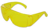 Очки защитные желтые, код 716-526