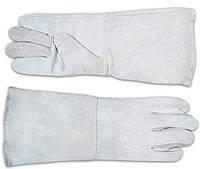 """Перчатки для сварки, """"Краги"""" кожа, код 716-250"""
