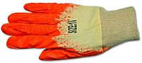 Перчатки с латексным покрытием б/п, код 716-203