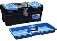 """Ящик для инструментов с металлической застежкой, Master 24"""", 610x585x320 мм, код 752-528"""