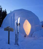 Примеры купольных конструкций. Экодом.