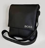 """Мужская сумка """"BOSS"""" А 10 матовая, фото 1"""