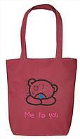 """Женская сумка - """"Me to you"""" Б62 - розовая, фото 1"""