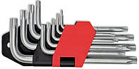 Набор ключей TORX, Cr-V 9шт. (Т10-Т50), код 749-140