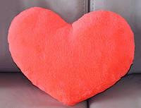 "Подушка ""Сердце"" коралловое"