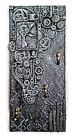 Ключница настенная ручная работа Подарок на день рождения юбилей в стиле лофт