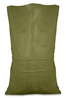 Мешок полипропиленовый, Украина зеленый, 55х105 см, 50 кг, код 710-918