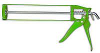 Пистолет для герметика скелетный металлический, код 712-006